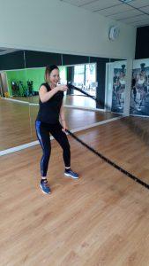 Battle Ropes Jessica Douglas Perth and Kinross Scotland