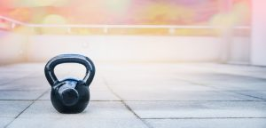 Kettle Bell Outdoor Fitness