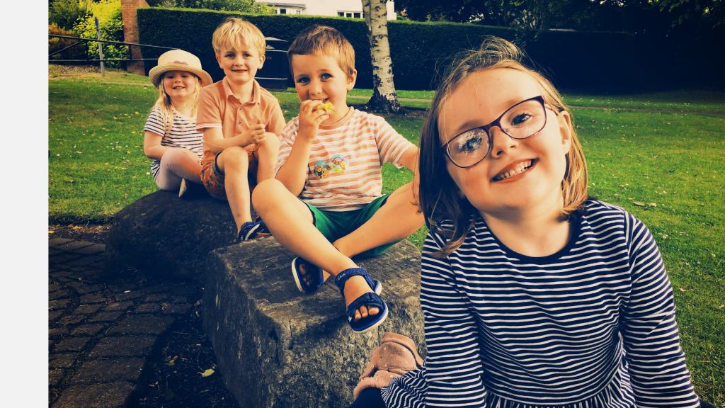 Children enjoying the outdoors